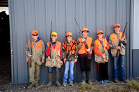Pheasants Youth Hunt '15