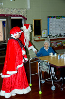 Santa Visits Sutton Nursing Home